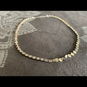 Jewelry - Sterling Silver Disk Choker Necklace